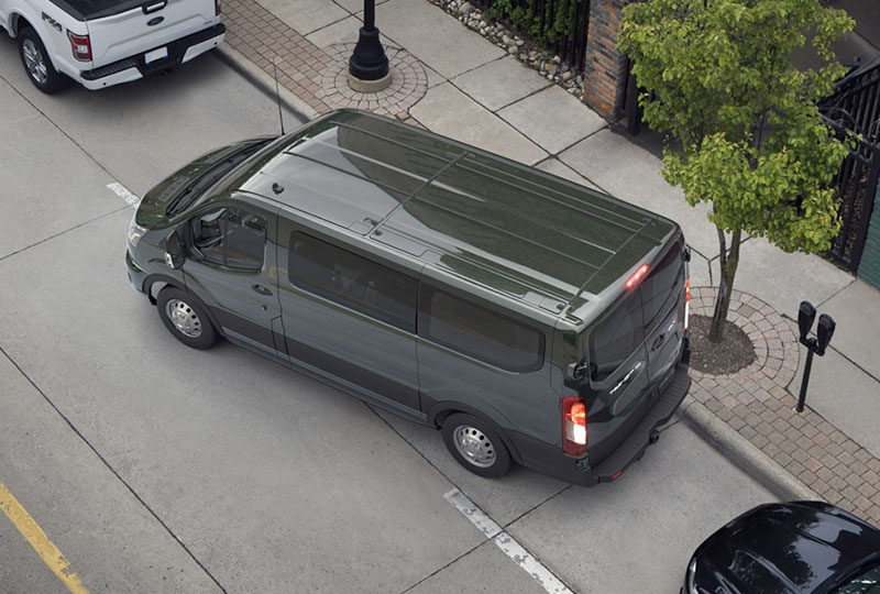2020 ford transit Technology